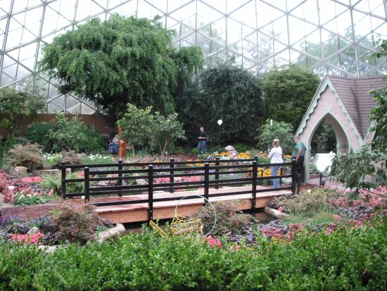 Mitchell Park Horticultural Conservatory (The Domes): Inside