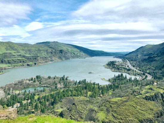 Mosier, Oregón: Rowena Crest Viewpoint