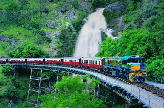 Full-Day Tour with Kuranda Scenic...