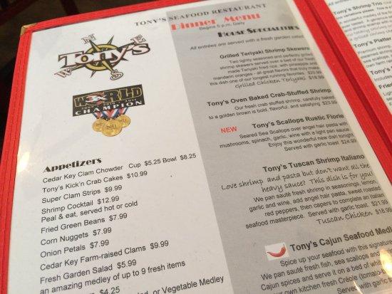 Tony's Seafood Restaurant : photo4.jpg