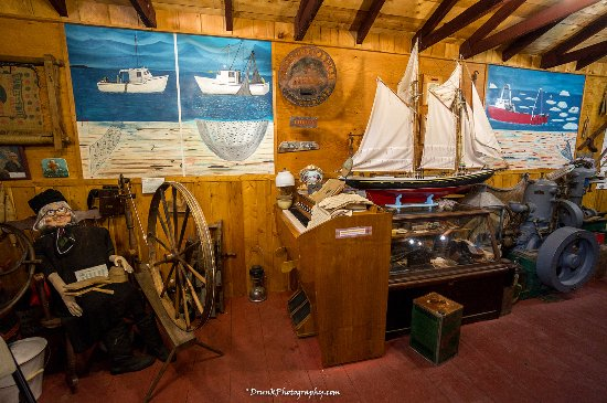 Prime Berth Fishing Museum: Go inside of every building