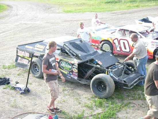#Mikkelson at Jamestown Speedway