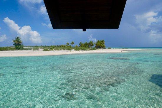 Tikehau Pearl Beach Resort: vue de la salle de bain