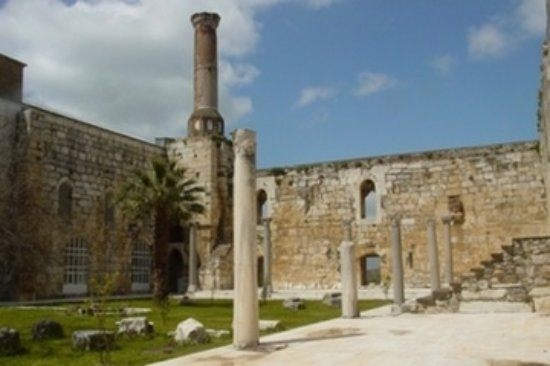 Isa Bey Mosque-bild