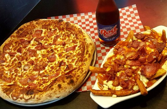 Jonquiere, Canada: Pizza, Sandwich & Rock n'Roll