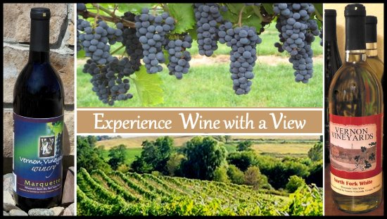 Viroqua, WI: All Vernon Vineyards wines are locally produced from locally grown grapes and Wisconsin cranberr