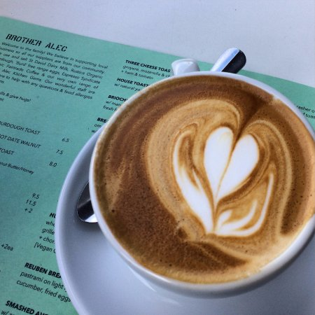 Thornbury, Australia: Strong flat white.