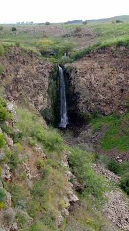 ‪‪Golan Heights‬: Gamla - high waterfall (51 meters)‬