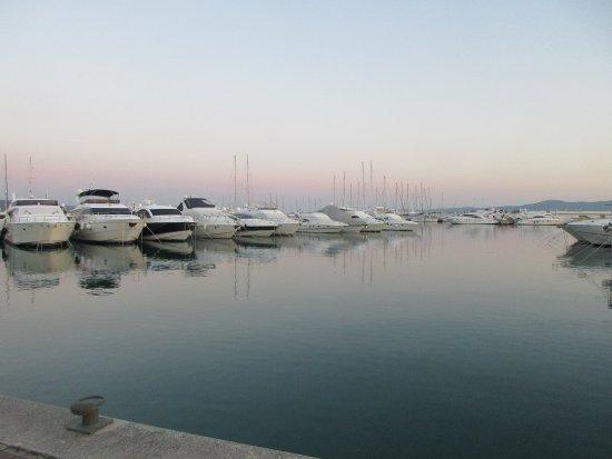 Sukosan, Kroasia: Le port de plaisance