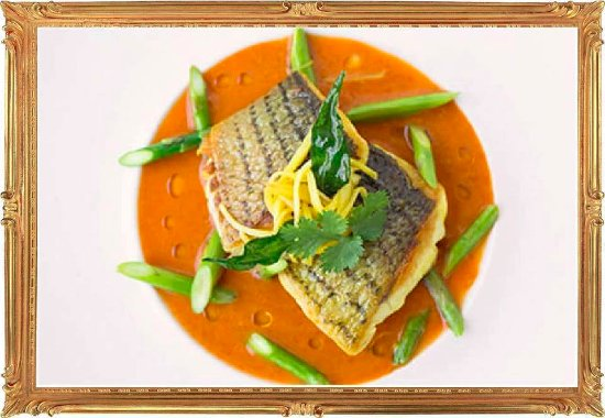 Abbots Bromley, UK: Samundari Sea Bass