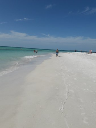 Bean Point- beautiful white sand and beautful clean and clearwaters