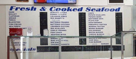 Molly's Seafood Singleton