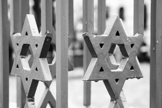 National Jewish Museum (Nemzeti Zsido Muzeum) : Looking through the gates to the museum courtyard