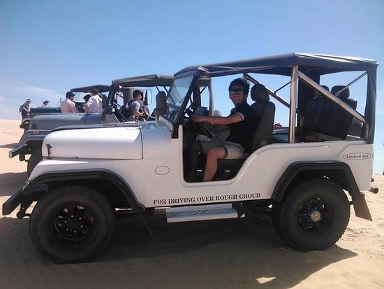 Фантхиет, Вьетнам: jeep tour mui ne