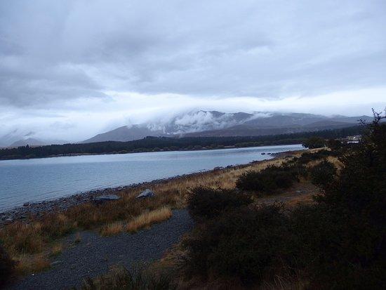 Lake Tekapo: 雨でした