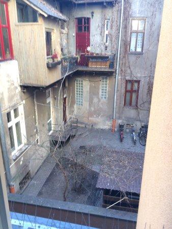 Hotel Alexander II : view from room window