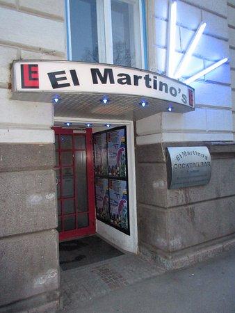 Leoben, النمسا: Eingangsbereich zum El Martino´s
