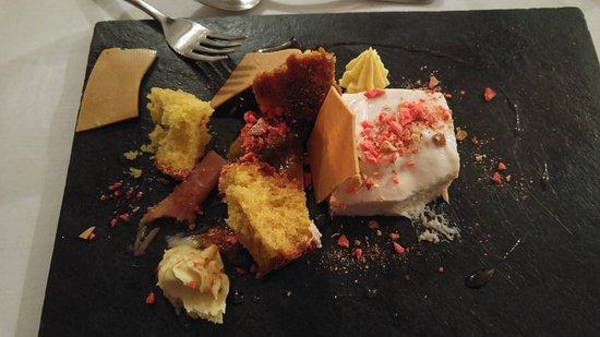 The Croft Kitchen: Pistacio cake, baked white chocolate