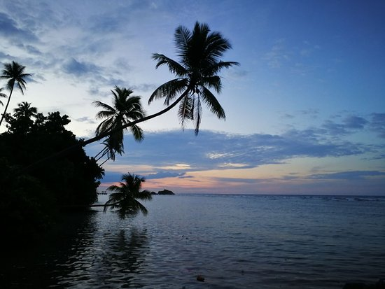 Patuno Resort Wakatobi : Sunset view from resort