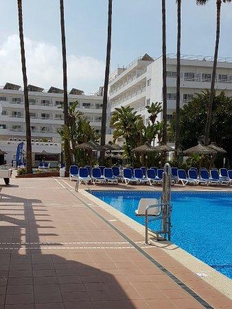 veiw towards santa ponsa hotel