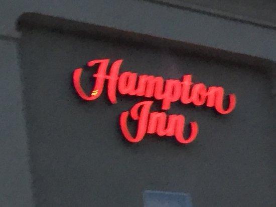 Hampton Inn Moab: Sign