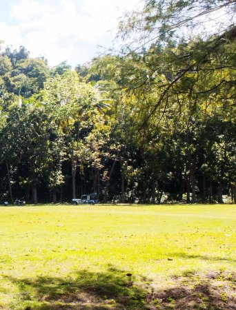 Garcia Hernandez, Filippinerna: the open field for camping