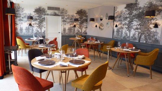 Domaine de la Tortiniere: Nouveau Restaurant