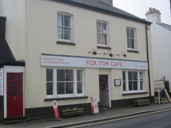 Fox Tor Cafe: A haven for hungry people.
