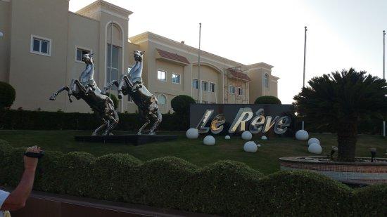 Entrance in hotel