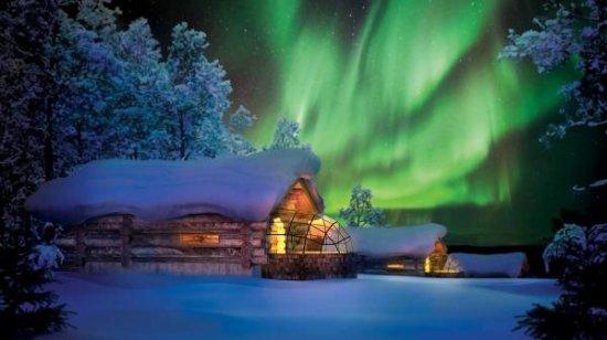 Action Park: Enjoy an aurora in Finland !