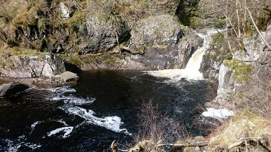 Callander, UK: The Scout Pool at the northern most point of the Bracklinn Falls Circuit.