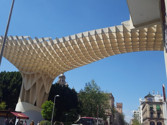 Photo of Monument / Landmark Metropol Parasol at Plaza De La Encarnacion, Seville 41003, Spain