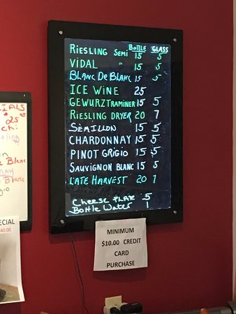 Madison, OH: White Wine and prices