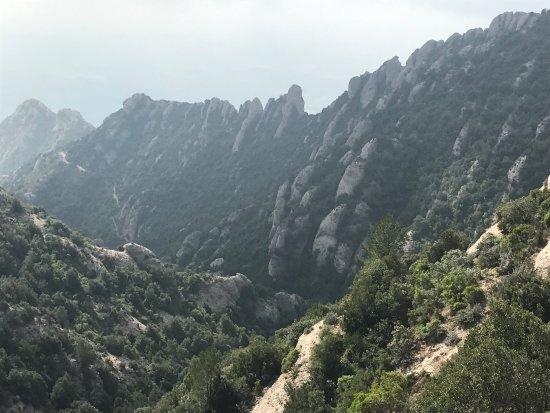 Sant Jeroni: Montserrat