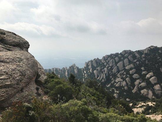 Sant Jeroni: Near the top