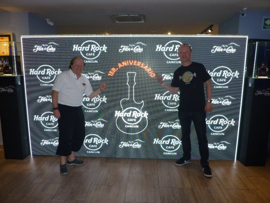 1st anniversary party picture of hard rock cafe cancun tripadvisor