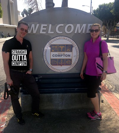 Welcome to Compton - Picture of LA Hood LIfe Tours, Los ...