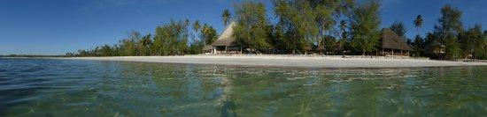 Michamvi Sunset Bay Resort: MSBR vom Meer aus gesehen.
