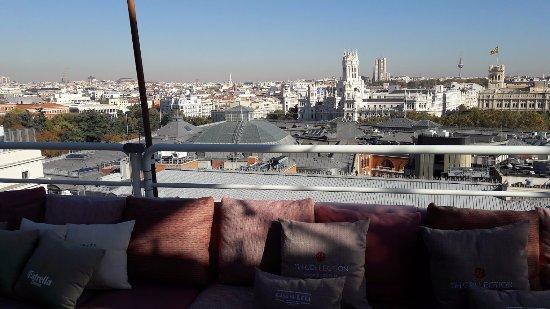 Las Vistas De La Terraza Picture Of Casa Suecia Madrid