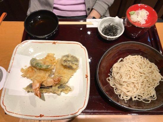 Kobikichotenkuni: 天ざる お蕎麦