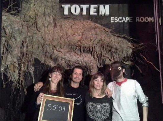 Totem Barcelona Escape Room