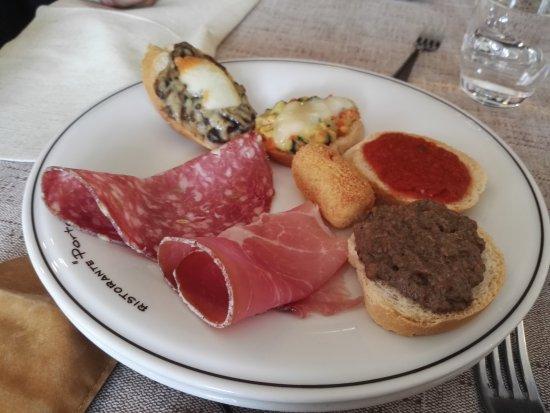 Portole, Itália: Pranzo eccezionale