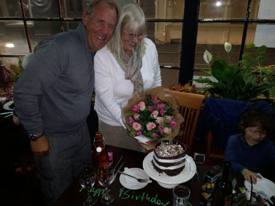 AguaDulce : A fantastic birthday. Thank you 💗