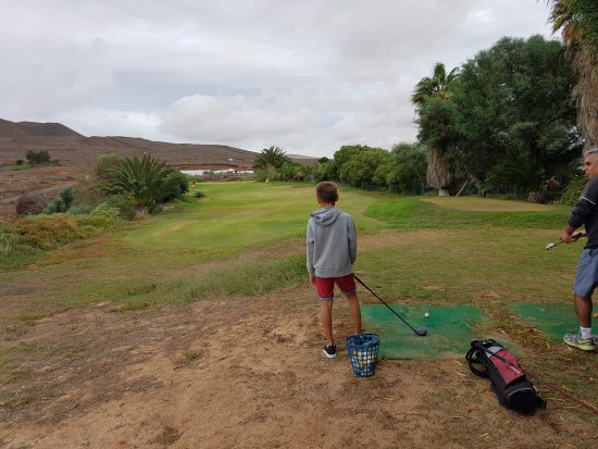 Lanzarote Golf Resort : Pitching practice area