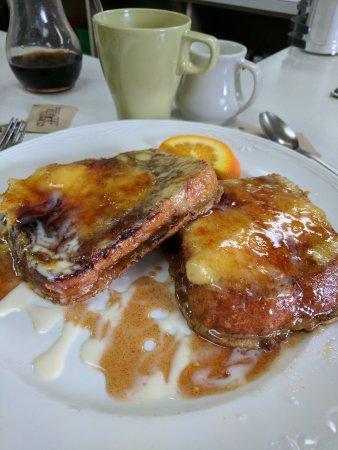 Brockton, MA: Creme brulee French toast!