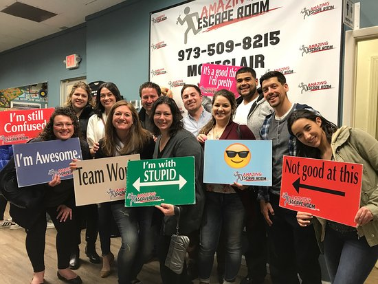Amazing Escape Room: Amazing Escape Room (Montclair)