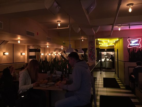 Photo of Restaurant Black Tap Craft Burgers & Beer at 136 West 55th Street, New York City, NY 10019, United States