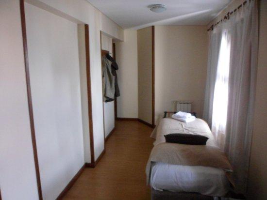 Hotel Cambria: era un sector de la habitacion donde habia una cama chica