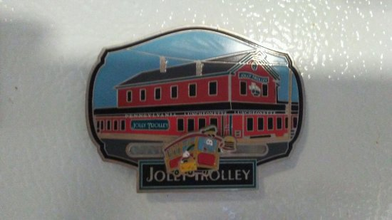 Dushore, PA: We Even Have A Jolly Trolley Magnet On The Side Of Our Frig As A Favorite Destination!!