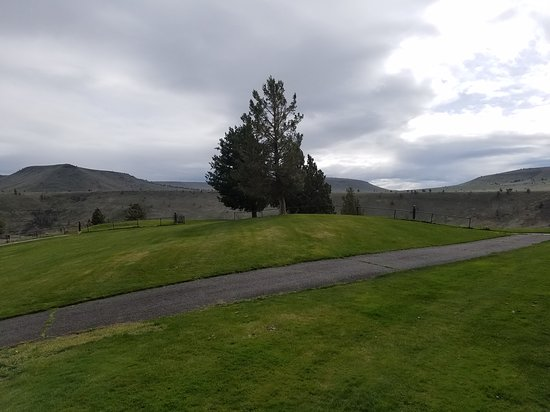 Warm Springs, OR: Nice view from room